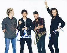 One Direction In-Person AUTHENTIC Autographed Group Photo COA SHA #16084