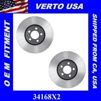 Front Brake Rotors for Nissan Quest 2004-2005-2006-2007-2008 to 2018  31389X2