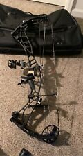 hoyt Axius Ultra in black. 34 axle to axle