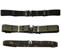 "Military Mini Pistol Belt w/ Metal Buckle 50"" x 1.25"" Rothco 9035"