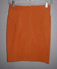 Forever 21 Amber Solid Stetch Short Mini Skirt Junior Size Small   NWT