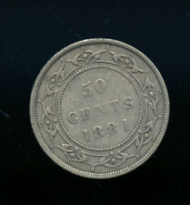 1881 Newfoundland 50 Cents F or better  CQ168
