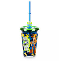 Disney Authentic Toy Story Buzz Woody Bullseye Horse Tumbler Kids Drink Cup New