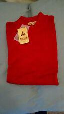 Mens Inserch Red Mock Turtleneck Sweater LS,100% Acrylic, Mens sz 3XL