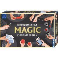 KOSMOS Die Zauberschule Magic Platinum Edition Zauberkasten Zaubern ab 8 Jahren