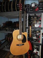 Johnson JG-650-NA Thinbody Acoustic Guitar with Pickup, Natural