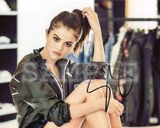 Selena Gomez signed 8x10 Autograph Photo RP -- Free ShipN! Sexy