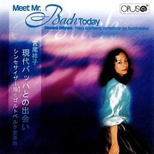SHOKO MIYAO-GENDAI BACH TO NO DEAI-SYNTHESIZER KIRAMEKU GOLDBERG...-JAPAN CD G29
