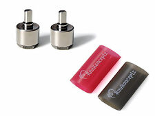 KnuKonceptz Power / Ground 0 to 4 Gauge Wire Reducer PAIR with heat shrink