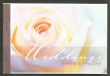 Australia 2002 Weddings prestige booklet-Attractive Topical (Sg Sp1) Mnh