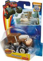Blaze The Monster Machines GASQUATCH Fisher-Price Die-Cast Metal Race Car NEW