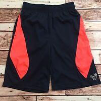 Disney/Jumping Beans Boy's Navy/Orange Basketball Shorts. Size 7X.
