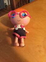 Lalaloopsy Doll 7 Inches Orange Hair Pink Glasses Little Specs B5