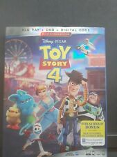 Toy Story 4 Bluray Blu-ray Disc Free Shipping! New!