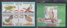 Philippine Stamps 1994 Rare & Endangered Philippine Birds Complete set MNH