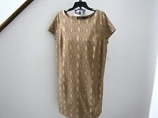 NWT's Ralph Lauren beautiful animal print shirt dress 1X