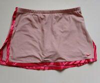 Nike Tennis Golf Skort Size Small 4 - 6 Womens Pink Performance Skirt Stretch