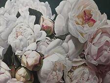 Peony Flower Painting Canvas Print
