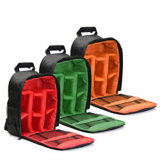 Waterproof DSLR Camera Video Backpack Shoulder Bag Case For Canon Nikon xuefezha