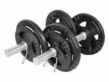 20Kg Cast Iron Dumbell Set Gym Weights Barbell/Dumbbells Body Building Workout