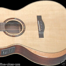 Teton STG150CENT-AR Acoustic Electric Armrest Grand Concert Guitar ONLY Gloss