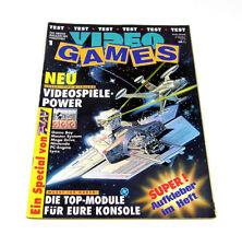 Video Games 1 Erstausgabe Mai 1991 1/91 | Power Play | Magazin | Markt & Technik