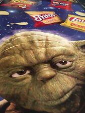 Star Wars YODA and FRITO LAY Cardboard Display Cutout STAR WARS STORE DISPLAY