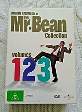 MR. BEAN COLLECTION VOLUMES 1 2 3 – DVD, 3-DISC BOX SET- R: 2+4- LIKE NEW