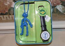 Disney Pixar Fossil A Bug's Life Limited Edition Flik Watch Black 0016/5000 NIB
