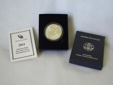 2011-W American Eagle Burnished Uncirculated Coin  - One Troy oz .999 Bullion
