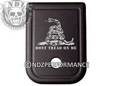 For Glock Magazine 10mm .45 cal BLK Plate 20 21 29 30 40 41 DTOM Rattlesnake