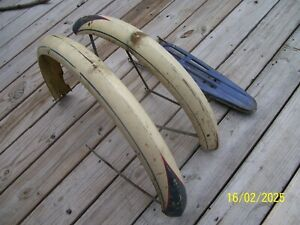 """1950'S  CWC WESTERN FLYER  26""""  FRONT AND REAR FENDERS  WITH CARRIER"""