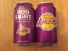 2017 Bud Light NBA Can - Los Angeles Lakers Basketball RARE NBA collectible!