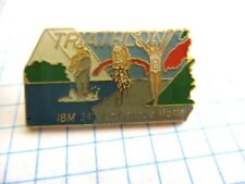 PINS RARE VINTAGE SPORT TRIATHLON IBM 34 LA GRANDE MOTTE INFORMATIQUE wxc 34