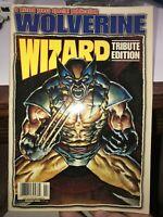 WIZARD Press Magazine WOLVERINE Tribute Edition 1996 Mark Texeira Cover Art