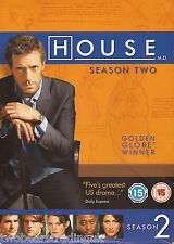 HOUSE: THE COMPLETE SEASON TWO (R2/4 Six DVD Box Set) (Hugh Laurie)