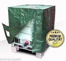 Premium IBC Container Cover für 1000 l Tank, Abdeckplane Wassertonne Sichtschutz