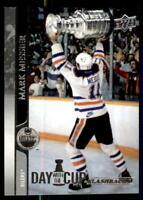 2020-21 UD Series 1 Day with The Cup Tribute #DCF-4 Mark Messier