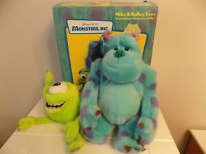 Monsters Inc. Mike And Sulley Soft Toy Disney Channel & Sky Promotion Official