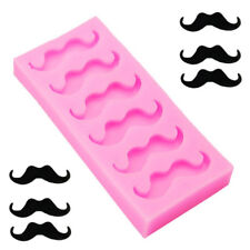 Beard Mustache Candy Silicone Fondant Mold Sugar Craft Christmas Cake Decor  I