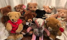 Box o'Bears! Box of 10 Stuffed Teddy Bears
