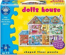 Orchard Toys DOLLS HOUSE Kids/Childrens Giant 25 Piece Floor Jigsaw Puzzle BNIB