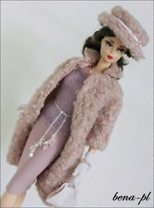 bena-pl Clothes fits Silkstone Barbie FR Victoire Roux, East 59th   OOAK  outfit