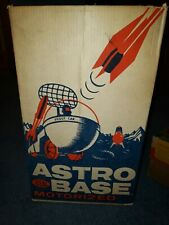 Ideal 1960 Astro Base Vintage Space Toy  Box ONLY