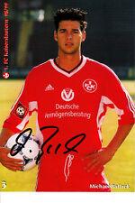 Michael Ballack 1.FC Kaiserslautern FC Bayern Leverkusen Chelsea DFB Deutschland
