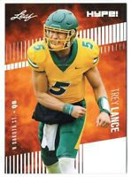 Trey Lance 2021 Leaf HYPE! #51 Only 5000 Made 25-Card Rookie Lot
