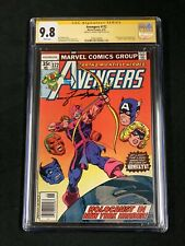 AVENGERS #172 CGC SS 9.8 1978 GEORGE PEREZ CLASSIC HAWKEYE COVER MS MARVEL