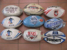 9 x Brand New NRL Footballs 2008 Manly 2007 Melbourne 2008 Aust World Cup