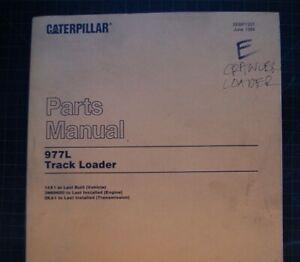 CAT Caterpillar 977L Track Loader Parts Manual Book crawler 1984 catalog factory