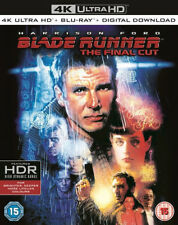 Blade Runner 4k UHD Blu-ray 2017 Region Harrison Ford
